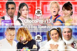 OOAKタッグリーグ後半戦!7/1(木)ChocoPro130はメイ&アッキvs水波&林亜佑美!桐原&アントンvsPSYCHO&CHANGO!